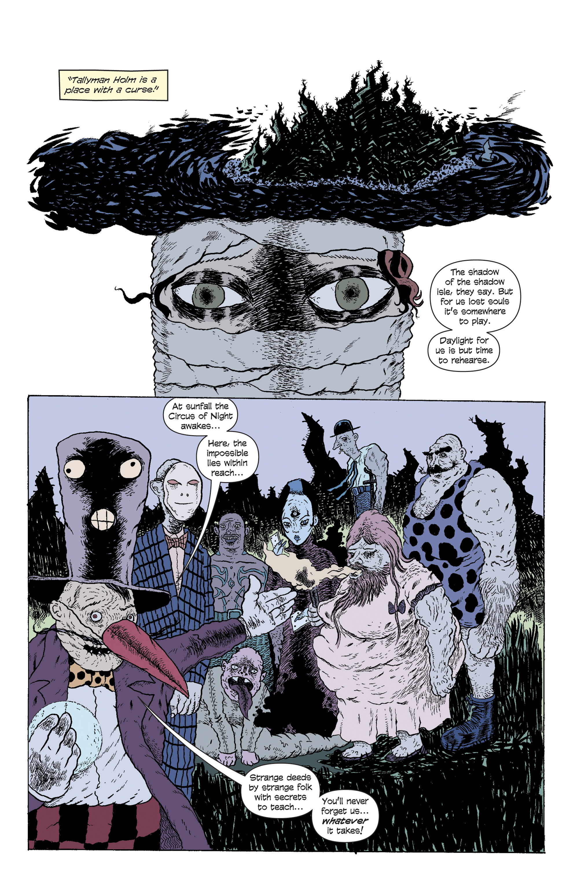 Read online And Then Emily Was Gone comic -  Issue #5 - 5