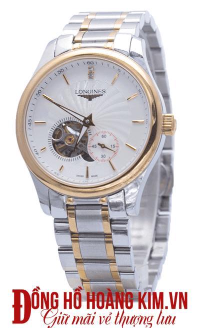 đồng hồ nam dây sắt giá rẻ thời trang