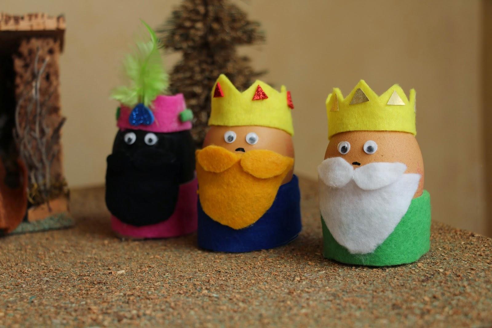 reyes magos con huevos