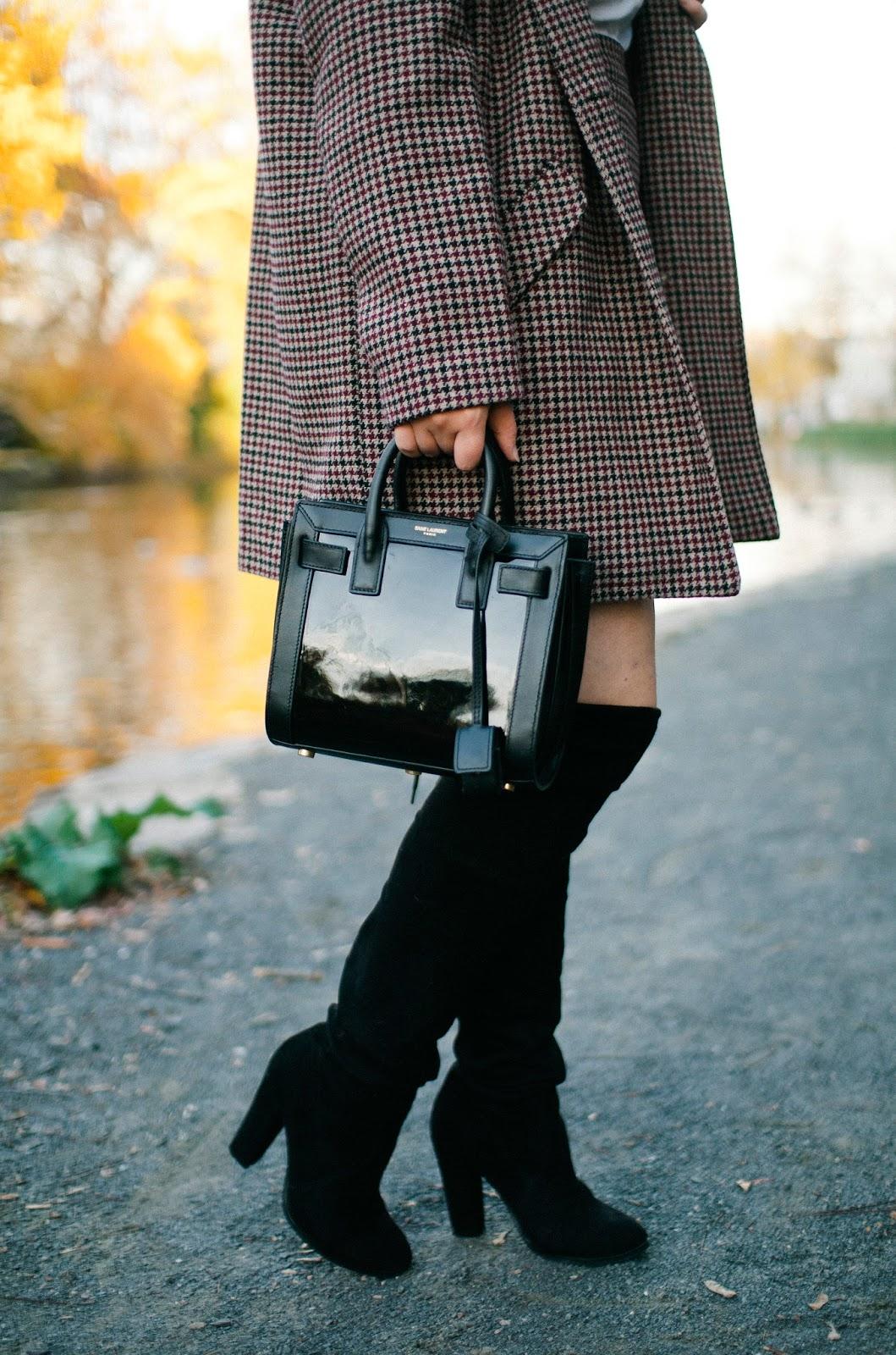 sac de jour, saint, laurent, blogger, street, style