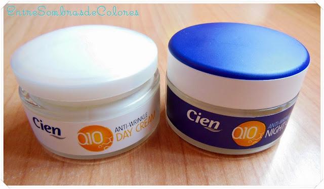 Cremas Q10 día y noche Cien (Lidl)