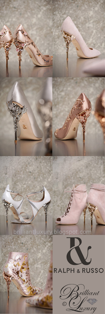 Ralph & Russo bejeweled Eden high heel collection #brilliantluxury