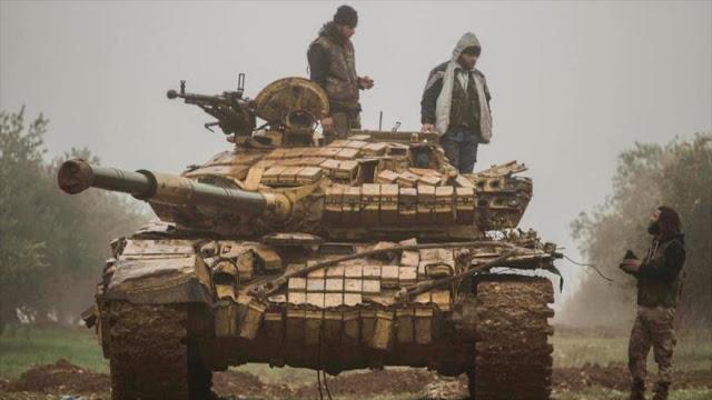 Principales grupos terroristas unen fuerzas contra el Ejército sirio