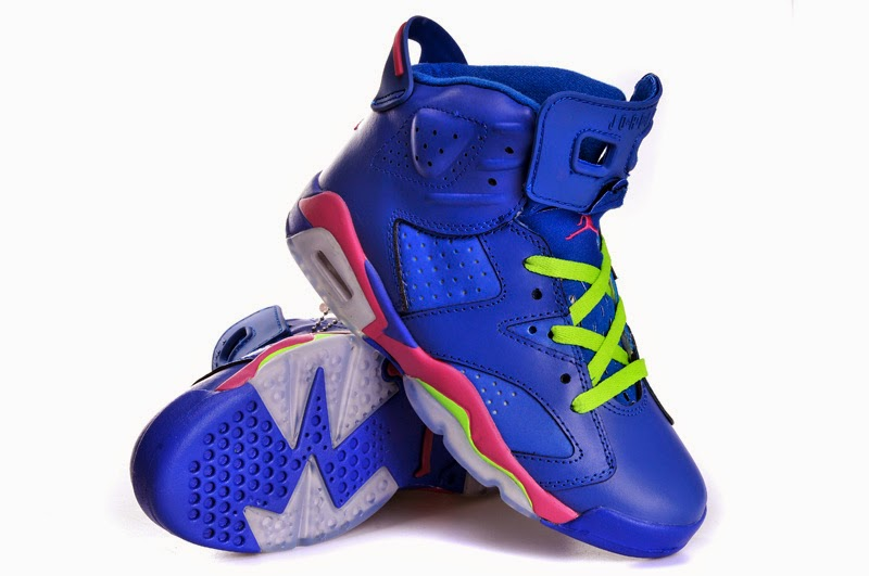 new product 00326 5d1ee ... air jordan 6 gs game royal ready for debut 1fa19 5a465  store nicki  minaj rockin jordan 6s in the artwork for her new song anaconda afce4 a9103