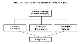 Bentuk-Bentuk Organisasi Kantor