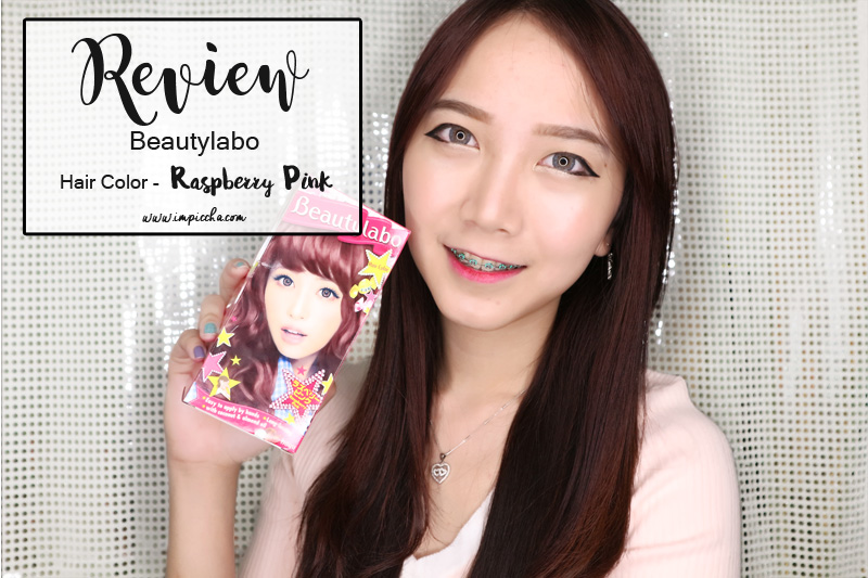 Review Beautylabo Hair Color Raspberry Pink