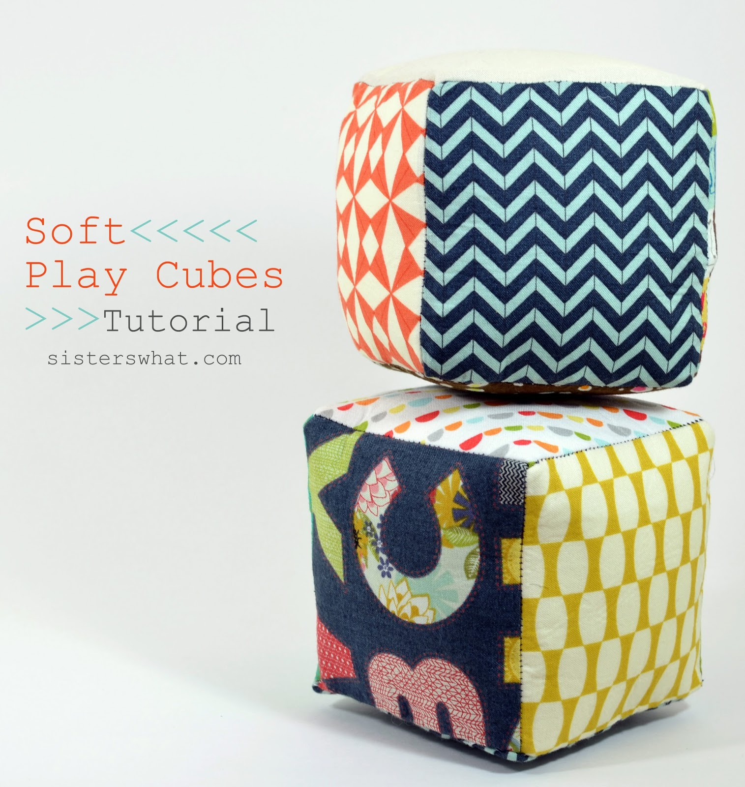 These fun soft play balls are an easy sewing tutorial and fun to make for the kiddos