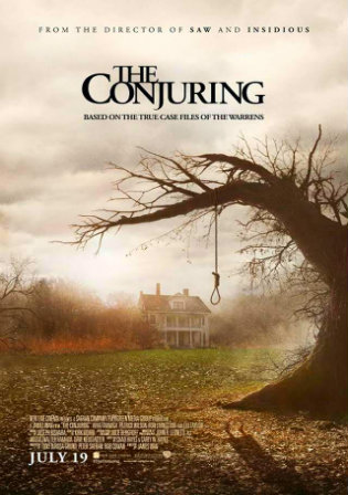 Poster of The Conjuring 2013 BRRip 1080p Dual Audio In Hindi English