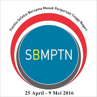 Pendaftaran SBMPTN Tahun 2016