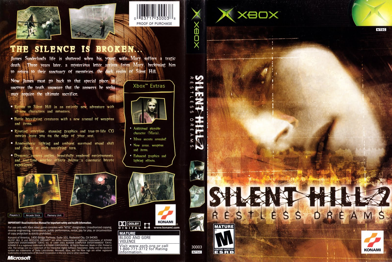 Juegos Xbox Clasicos En Formato Iso Silent Hill 2