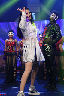 Sunny Leone Dancing on stage At Rogue Movie Audio Music Launch ~  180.JPG