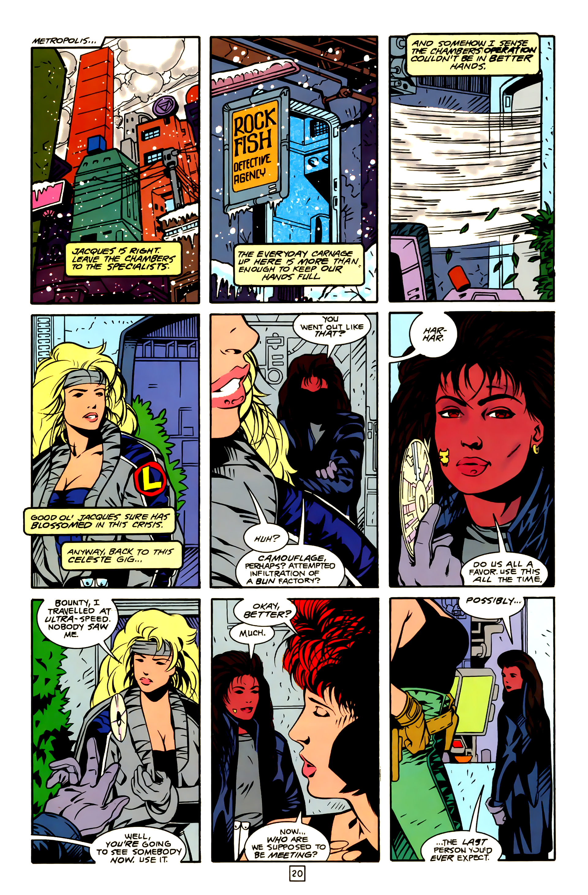 Legion of Super-Heroes (1989) 23 Page 20