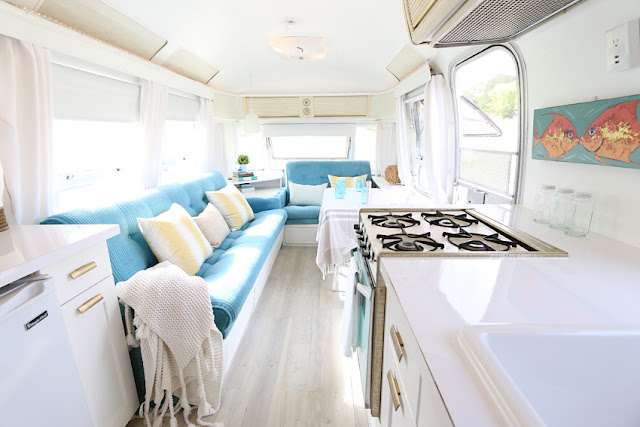 remodelled Airstream by Lynne Knowlton