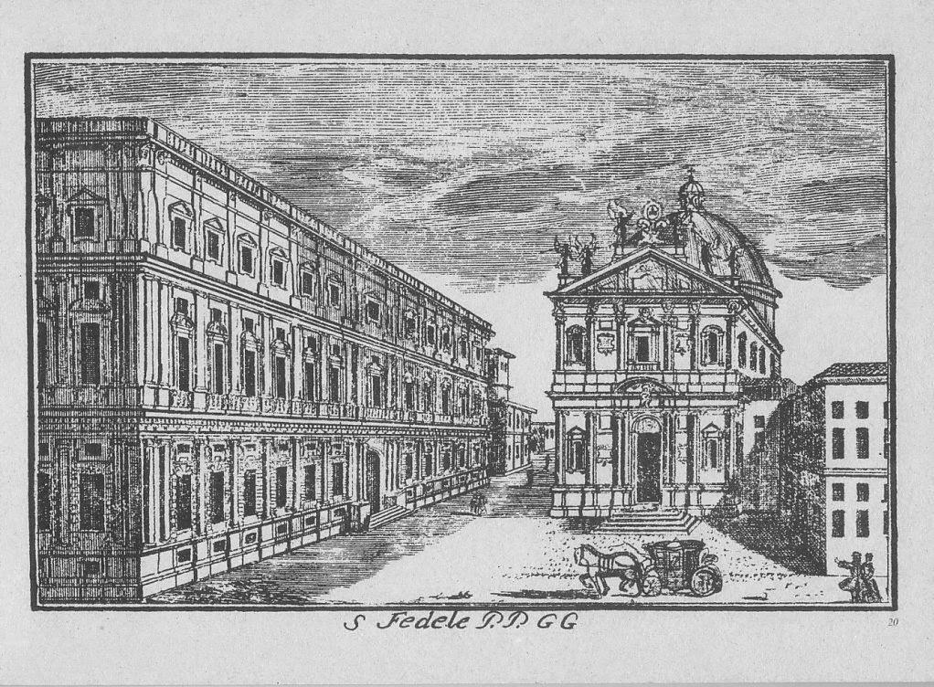 piazza san Fedele chiesa Dal Re