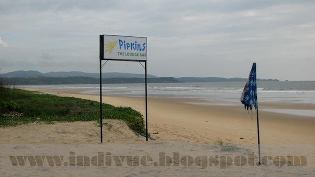Mobor Beach, Goa, Intia