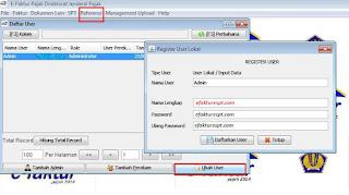Cara Mengubah Password Aplikasi e-Faktur