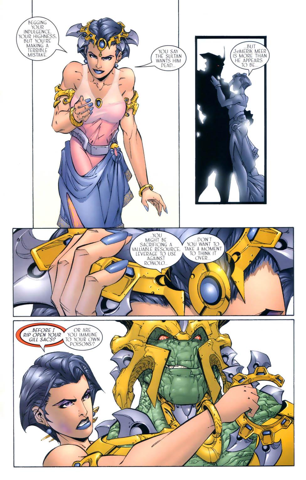 Read online Sigil (2000) comic -  Issue #4 - 20