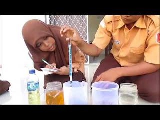Percobaan fluida statis disekolah