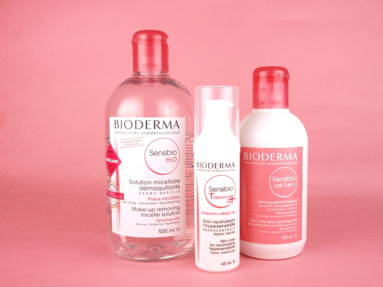 Bioderma Sensibio H2O, Cleansing Milk 3-in-1 & Tolerance Plus: Review
