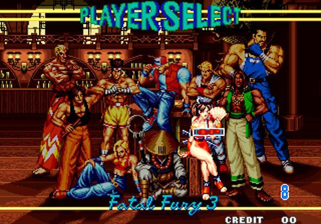 Videojuego Fatal Fury 1991