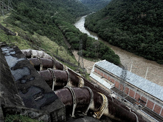 Tubulações por Onde Passa a Água, UHE Itaúba