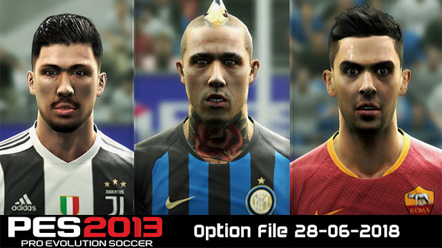 PES 2013 PESEdit 6.0 and Next Season Patch New Option File 28-6-2018