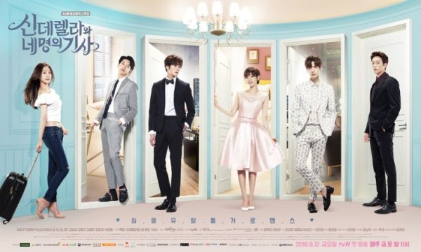SINOPSIS Cinderella and Four Knights Full Episode Lengkap (TAMAT)