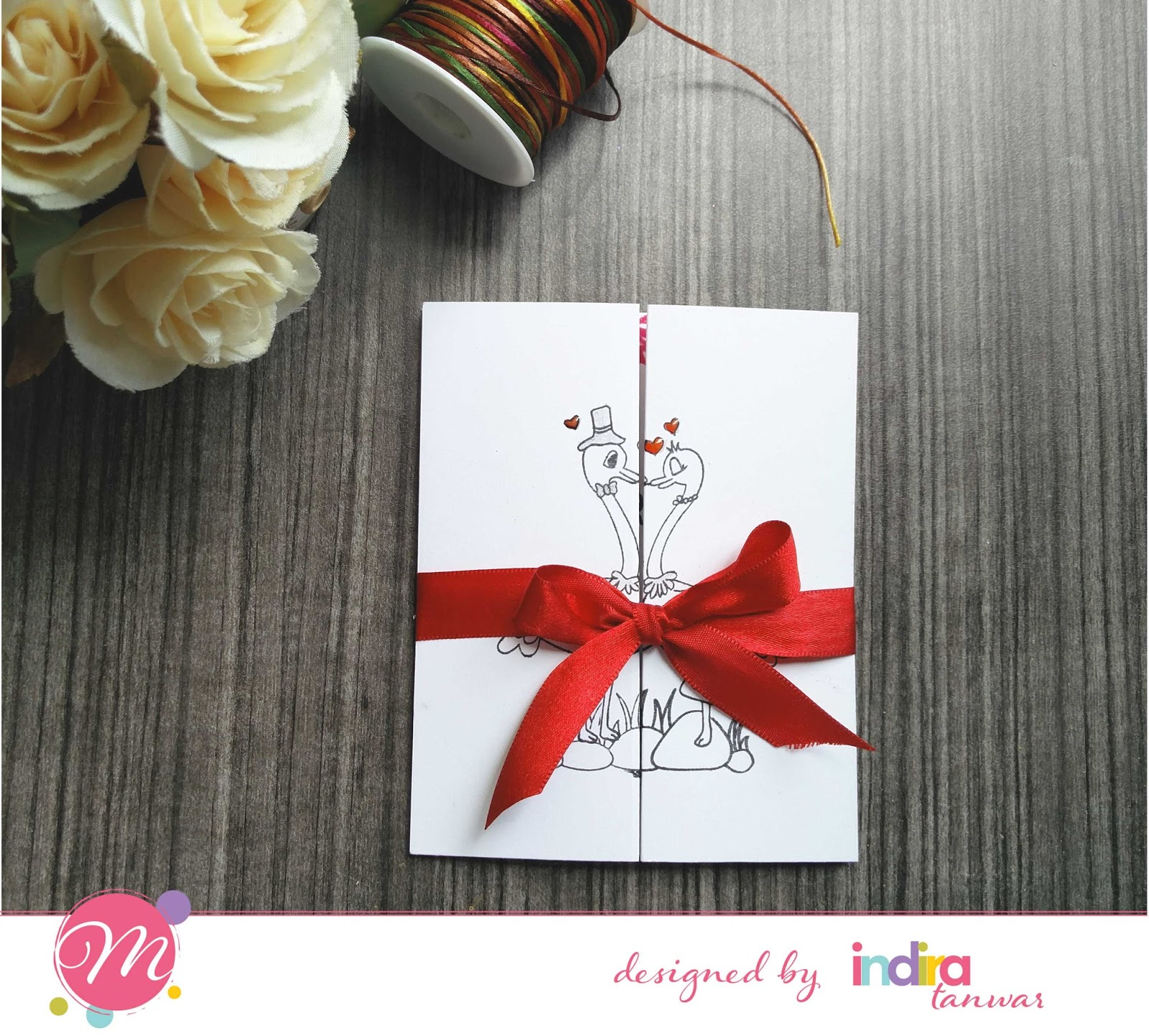Mudra Craft Stamps: Love Cards and Bookmarks Galore