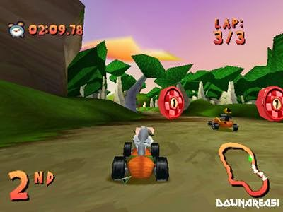 Looney Tunes Racing PSX Screenshot