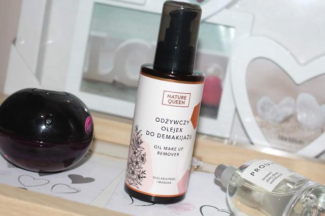 Odżywczy olejek do demakijażu od NATURE QUEEN