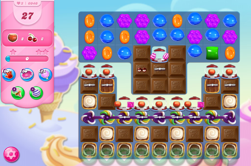 Candy Crush Saga level 6040