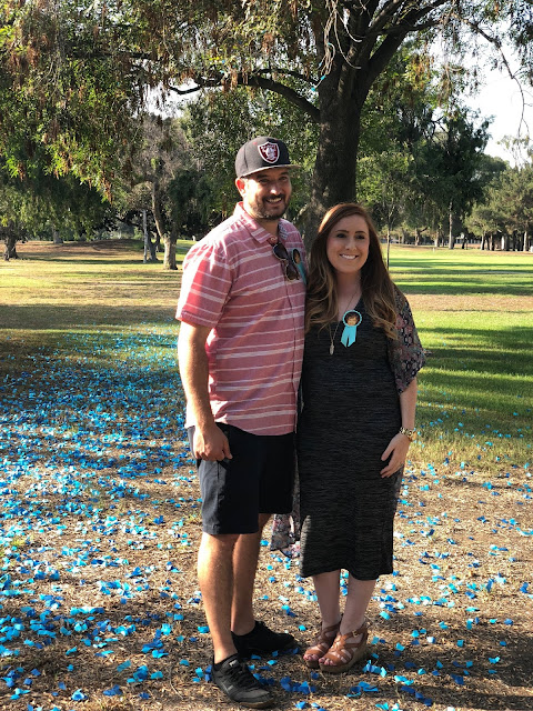Check out this adorable Gender Reveal Party!