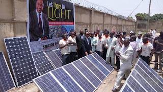Photos: Senator Shehu Sani Flags Off Solar Electrity Supply Project For Kaduna Rural Communities