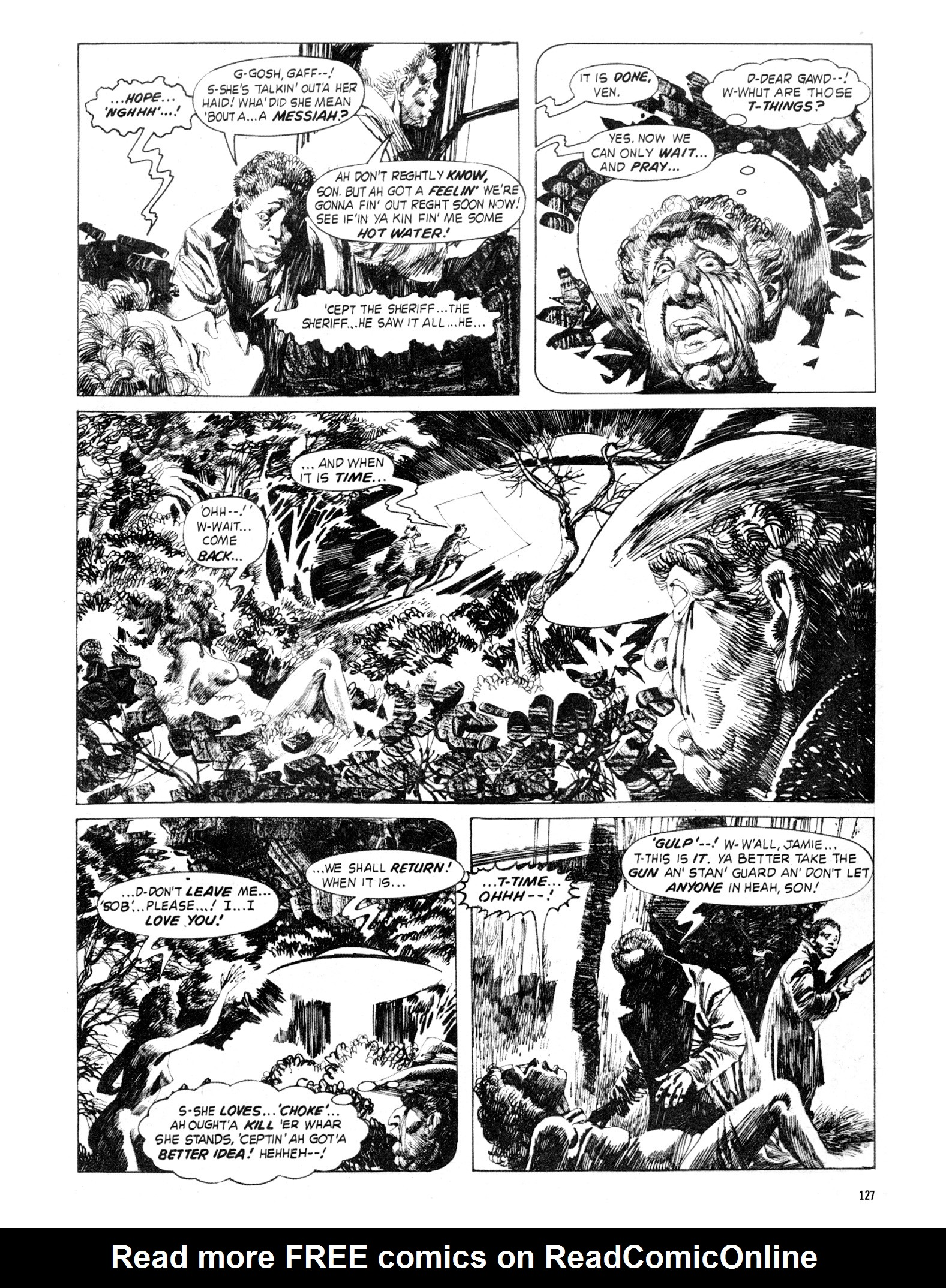 Read online Eerie Archives comic -  Issue # TPB 18 - 128