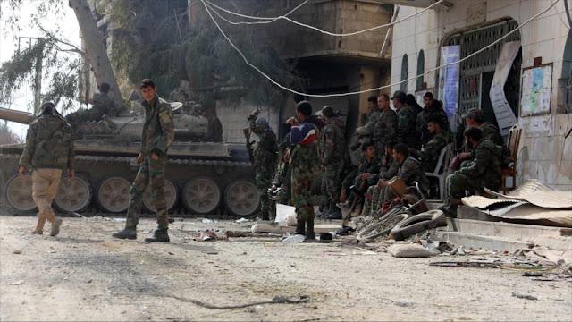 Siria: Estamos listos para repeler cualquier ataque de EEUU