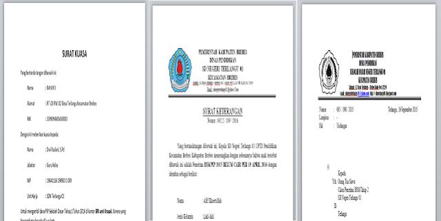 SK PIP, Surat Kuasa dan Undangan Calon Penerima PIP