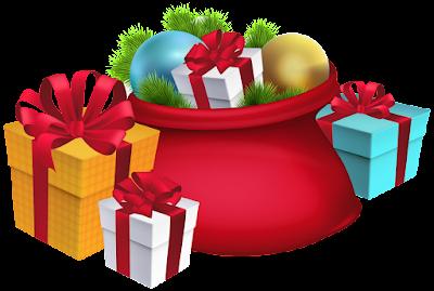 christmas santa gift png