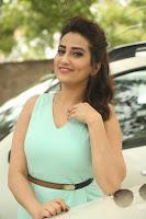Manjusha Glam Look Stills at JJN Launch TollywoodBlog