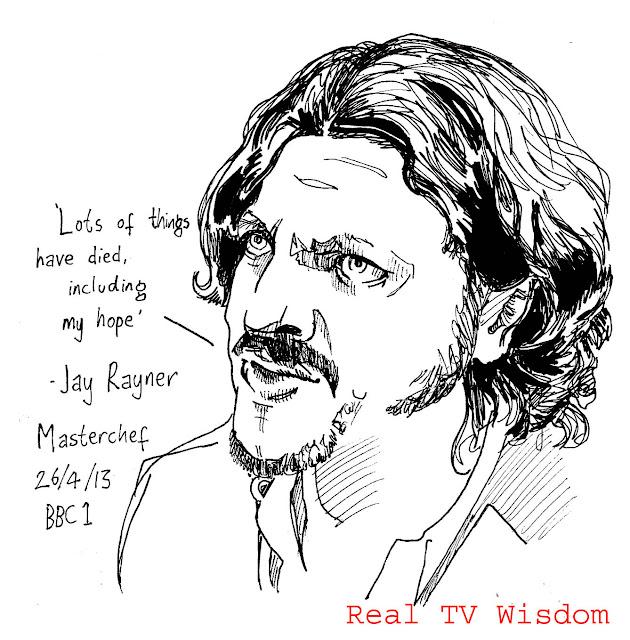 Real TV Wisdom: April 2013