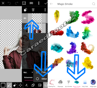 Tutorial Picsart Bom Smoke Effect