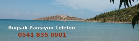 Boğsak Pansiyon Telefon Numarasıve Rezervasyon