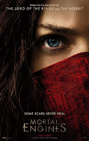 Poster Of Free Download Mortal Engines 2018 300MB Full Movie Hindi Dubbed 720P Bluray HD HEVC Small Size Pc Movie Only At worldfree4u.com