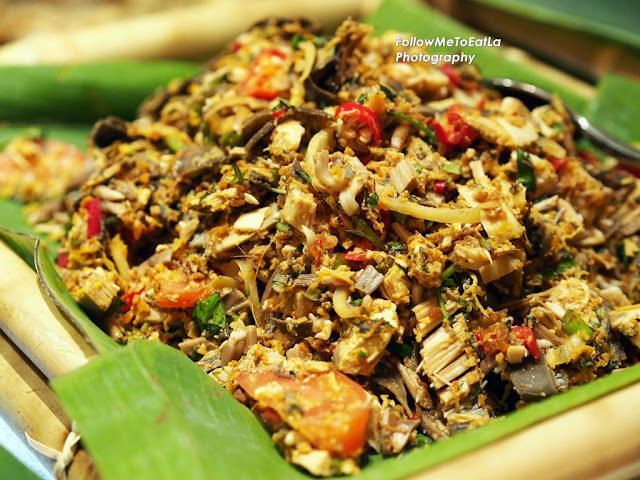 Kerabu Jantung Pisang (Banana Bud Salad With Chilli)
