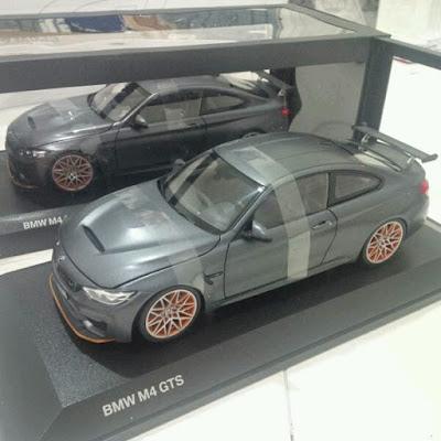 Diecast miniatur BMW M4