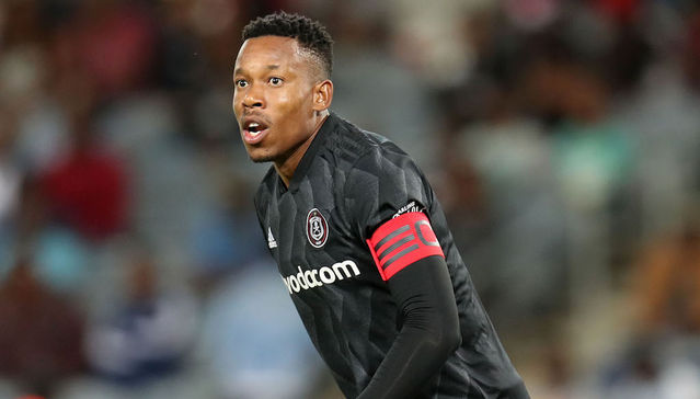 Orlando Pirates skipper Happy Jele