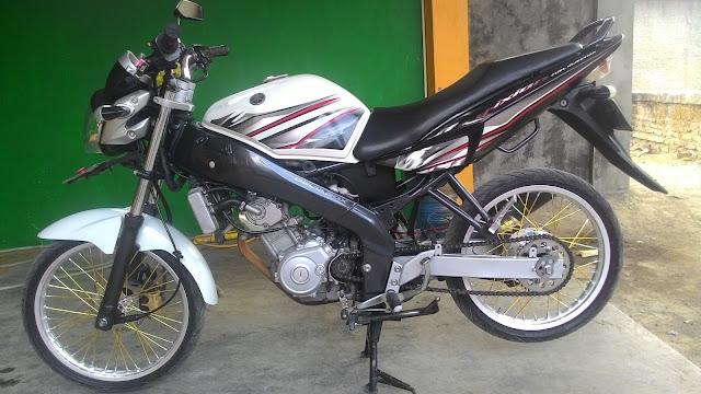 Modifikasi motor Vixion 2012 simple