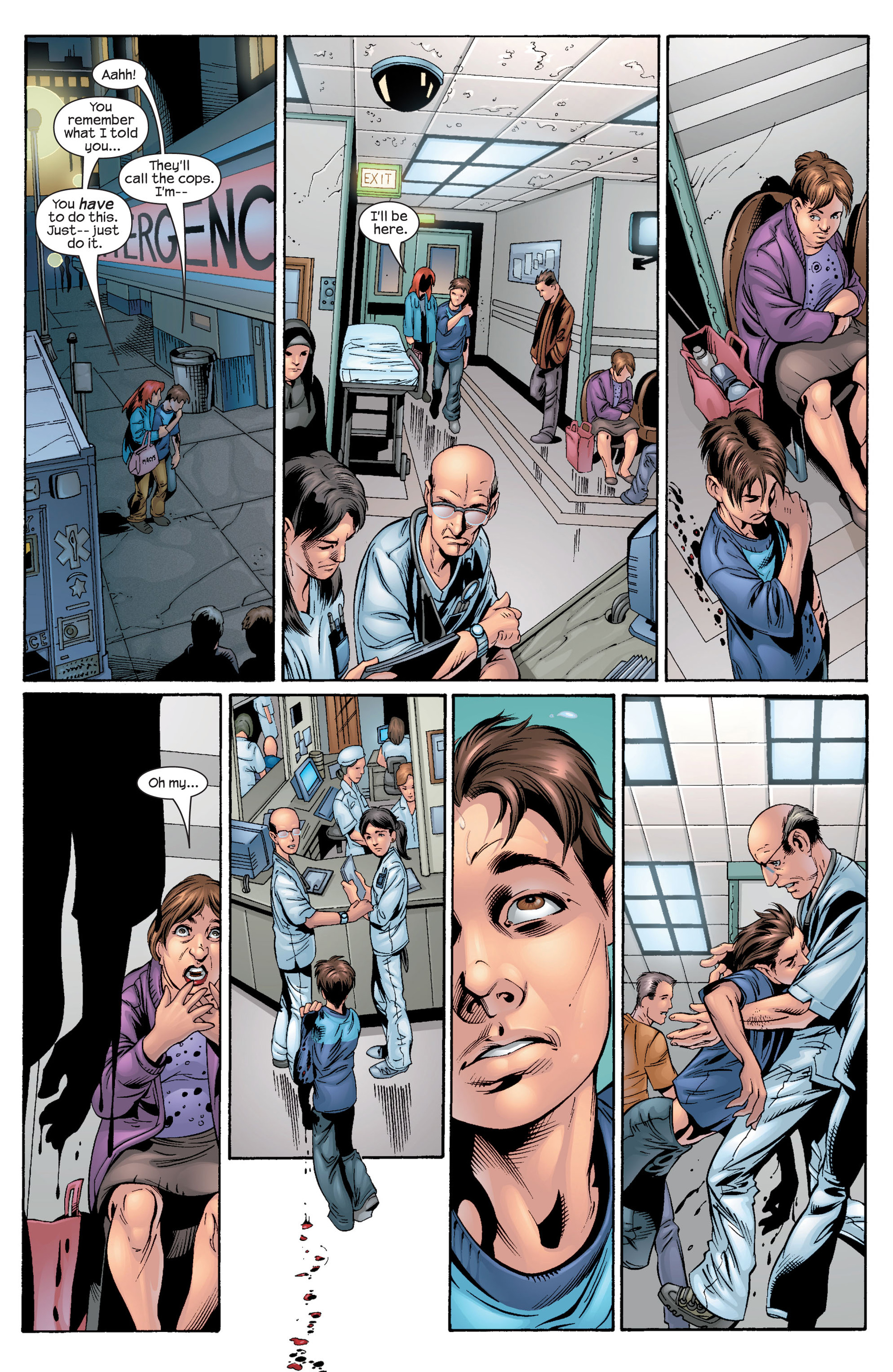 Read online Ultimate Spider-Man (2000) comic -  Issue #30 - 13