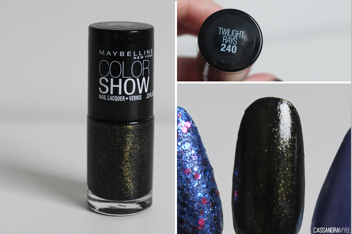 MAYBELLINE // Color Show Nail Polishes - Twilight Rays - cassandramyee