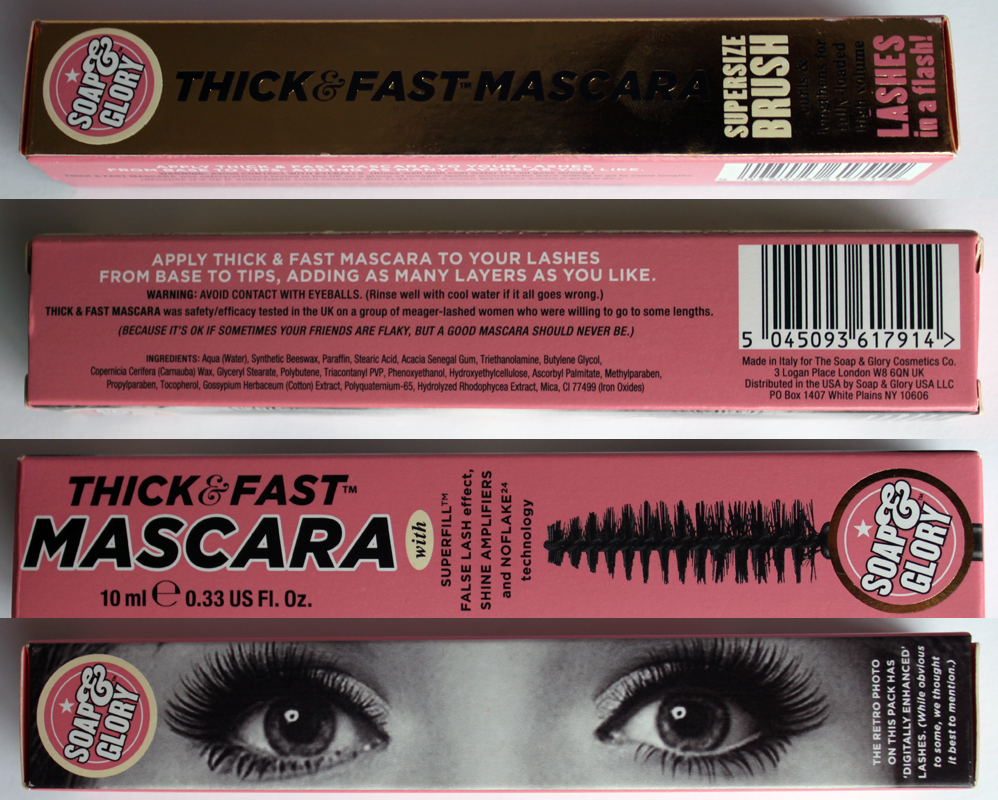7b920025f53 Soap & Glory Eyeliner and Mascara - A Little Obsessed