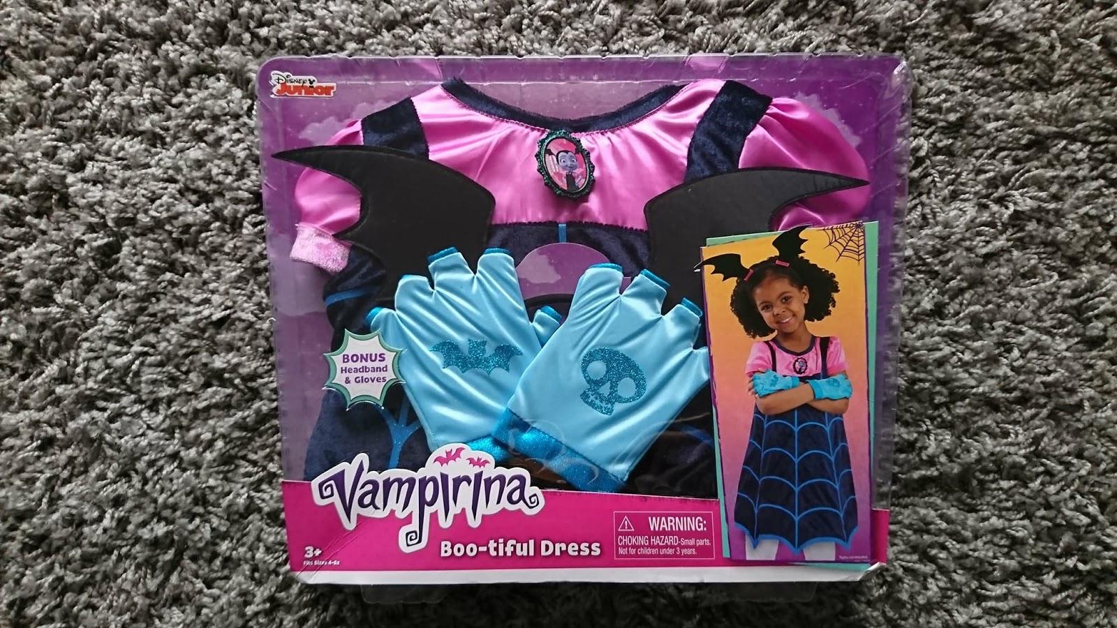 88ecafdd8 Disney Vampirina Boo-Tiful Dress - Review   Mum of a Premature Baby